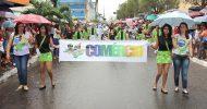 Desfile 7 de setembro em Itabaiana-SE dia 07-09-2014