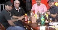 Show de MPB do Cantor Preto Lucas no La veritá Delicatessen dia 04-10-2014