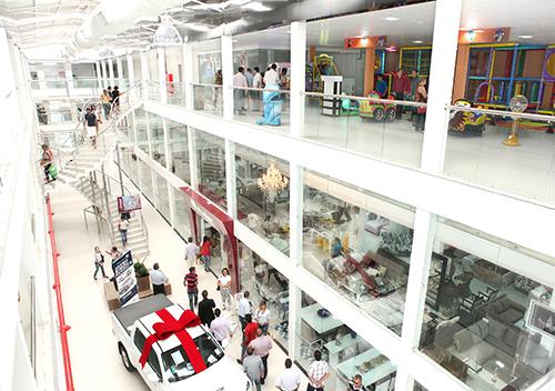 Inauguração das novas instalações da Loja Avelan Móveis e Decoração no Shopping Avelan em N. S. da Glória-SE