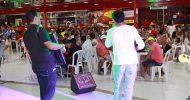 Show de Cadu Barone e Fabiana e o cantor Beto Sales no La veritá Delicatessen de Itabaiana dia 28-03-2015