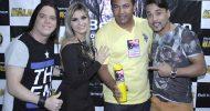 Show da banda Forró dos Balas e Léo Magalhães na festa do padroeiro da cidade de Frei Paulo dia 28-06-2015