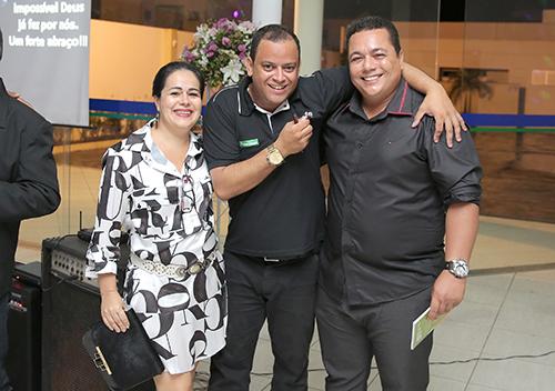 Palestra de motivação com Jarcilene Gordinho, Adayrton Santos e João machado
