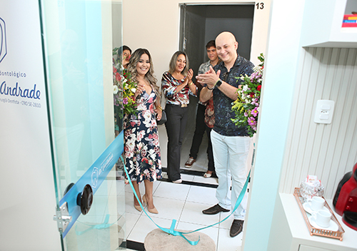 Inauguração do Consultório Odontológico Dra. Eva Andrade