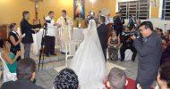 Casamento surpresa de Diego e Thais no salão do CTP de Itabaiana dia 16/02/1018 Fotos Portal Jaime da Perfil