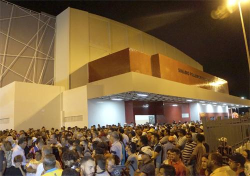 Inauguração do Ginásio Poliesportivo Chico do Cantagalo