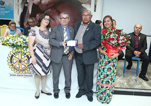 Cerimônia de posse de José Unaldo dos Santos, Presidente do Rotary Club de Itabaiana