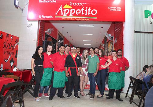 Inauguração do Restaurante e Pizzaria Buon Appetito