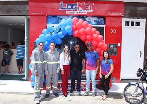 Inauguração da nova sede da iLogNet em Malhador-SE