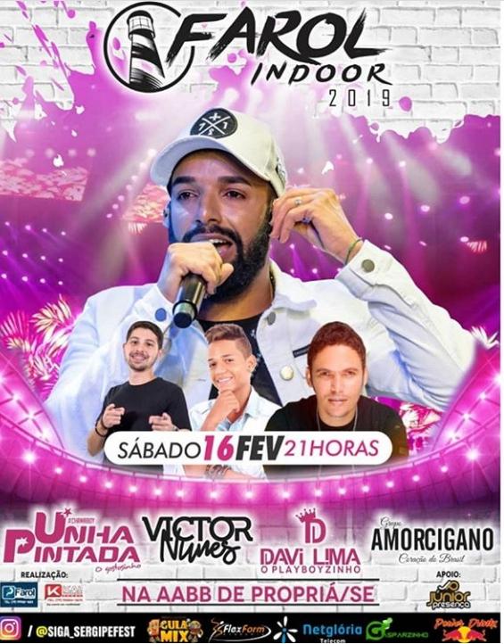 02 16-02-2019 Farol Indoor 2019 em Propriá-SE