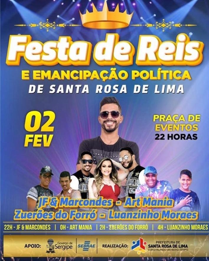 03 02-02-2019 Festa de Reis em Santa Rosa de Lima-SE