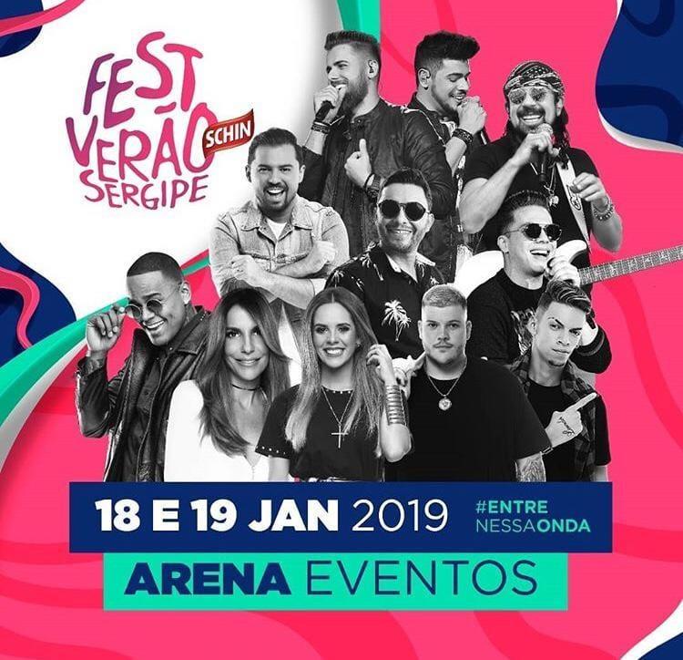 07 18 e 19-01-2019 Fest Verão Sergipe em Aracaju-SE