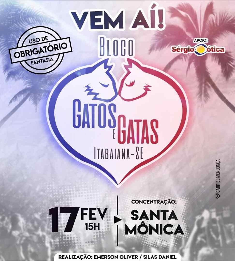 03 17-02-2019 Bloco Gatos e Gatas em Itabaiana-SE