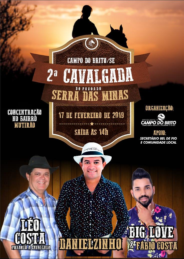 06 17-02-2019 2º Cavalgada do Pov. Serra das Minas em Campo do Brito-SE