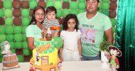 Aniversário de 1 aninho de Enzo Gabryell, dia 06-10-2019, no Pov. Palmeiras em Malhador-SE. Fotos Anova Revista.