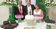 Formatura de Adauto Junior em Ciências Contábeis, dia 09-11-2019, em Itabaiana-SE. Fotos Anova Revista.