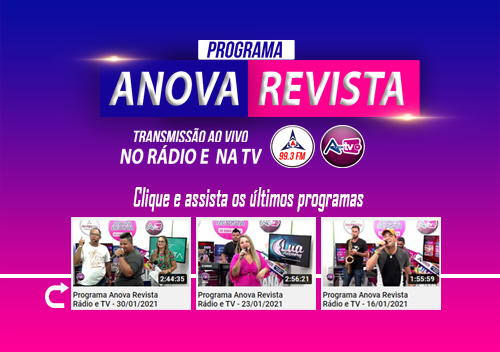 Programa Rádio e TV da Anova Revista