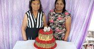 Aniversário de 86 anos de Firmina Rosa, dia 29-07-2021 em Itabaiana-SE. Fotos Anova Revista.