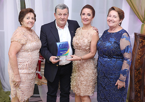Entrega dos Prêmios Destaque Empresarial do Ano 2016 da CDL de Itabaiana