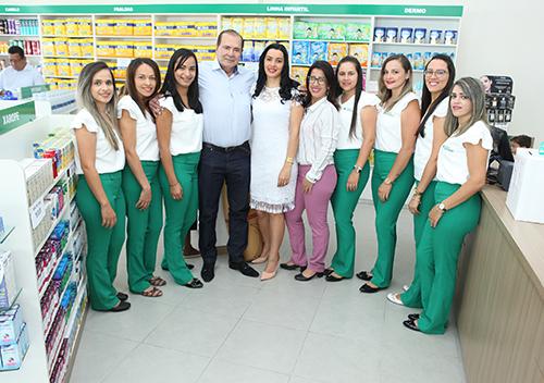 Inauguração da Farmácia Renovar
