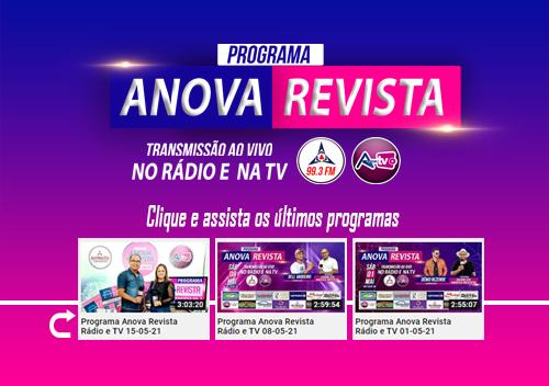Programa Rádio e TV da Anova Revista